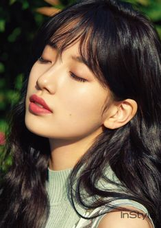 Suzy - InStyle Korea April 2017 (Whispers In Bloom) Bae Suzy, Korean Beauty, Asian Beauty, Marie Claire, Miss A Suzy, Idole, Instyle Magazine, Korean Celebrities, Beautiful Asian Women