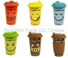 Positive coffee cups