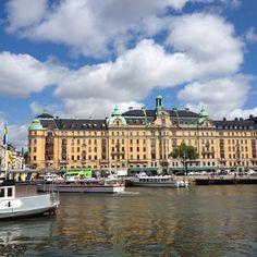 Estocolmo desde el puerto