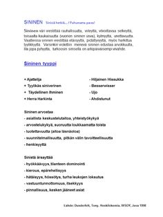 Tunnista temperamenttisi -testi – Uusi Ikaalinen Wicca, Classroom Ideas, Know It All, Wiccan