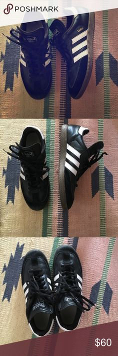 Adidas sneakers Awesome classic adidas sambas! Men's 8.5, women's 10. Adidas Shoes Sneakers