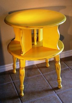 My aunt had a table similar to this and I always wanted it to use as a doll house-it would have 4 rooms with doorways!