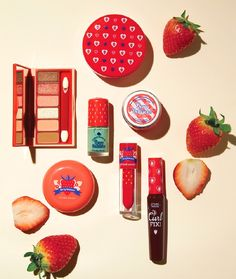 "The new Etude House Berry Delicious Collection has launched in Korea for Spring 2016 and I am very excited. Etude House has done a variety of ""fruit"" theme"