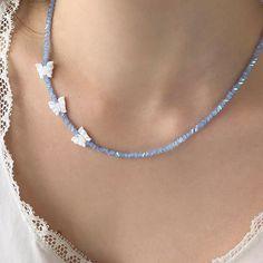 Beaded Choker Necklace, Diy Necklace, Beaded Jewelry, Handmade Jewelry, Beaded Bracelets, Necklaces, Trendy Jewelry, Cute Jewelry, Jewelry Accessories