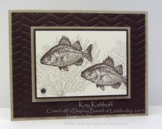 Stamping to Share: 3/18 By the Tide Customer Favorite, Kay Kalthoff, Fishing
