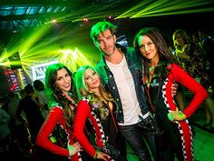 Star Tracks: Monday, May 31, 2016 | TOTAL BUDDIES | Chris Pine posed with the Budweiser ladies at The 2016 Maxim Party at Indy 500, produced by Karma International Productions in celebration of The 100th Running of the Indy 500, in Indianapolis, Indiana, on Friday