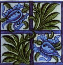 William Morris pictorial tiles