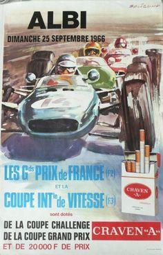 Affiche+originale+Albi+Les+grands+prix+de+France+1966+-+Michel+BELIGOND