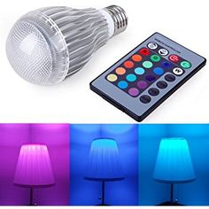These color changing light bulbs make a great gift for tweens and teens. 16 different color changing options! My Christmas List, Christmas Wishes, Christmas Gifts, Christmas 2016, Tween Gifts, Gifts For Teens, Teen Girl Gifts, Color Changing Light Bulb, For Elise