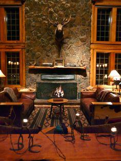 The lodge at Hidden Meadow Ranch in Greer, #Arizona