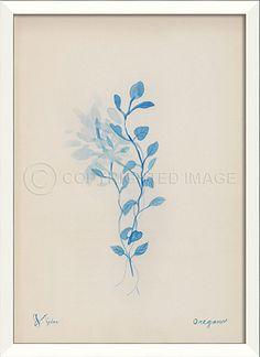 LN Oregano in blue by Kolene Spicher - Spicher&Co.