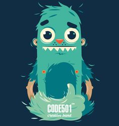 NEW DAY - NEW CHARACTER | CODE501 by CODE501 - CREATIVE BAND ! , via Behance