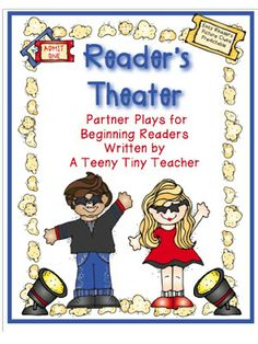 Freebielicious: Reader's Theater - partner plays for beginning readers!