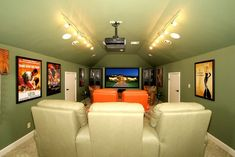 Media room on pinterest bonus rooms bonus room design Media room paint ideas