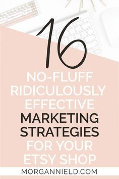 16 ridiculously effective marketing strategies for your Etsy shop | Marketing your Etsy shop doesn't have to be hard-- in fact, these 16 methods I'll share with you today will convince you just how fun + easy it can be to market your handmade shop!