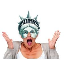 Statue of Liberty Mask