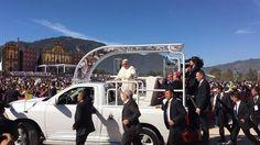 Vea el video en directo: El Papa desde Chiapas