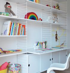 love this shelving idea...but maybe for down the road