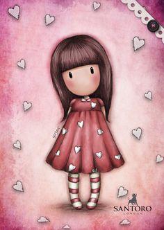 A5 SOFT COVER GORJUSS - GORJUSS - LICENSE - MarMar Kawaii, Cute Cartoon Wallpapers, Digi Stamps, Cute Images, Copics, Cute Dolls, Cute Illustration, Girl Cartoon, Fabric Painting