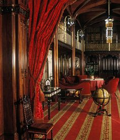 A medieval castle that was restored and largely rebuilt in by C. Buckler for the fifteenth Duke of Norfolk. Castle Rooms, Castle House, English Manor, English Style, Arundel Castle, Ice Houses, Manor Houses, Beautiful Library, English Castles