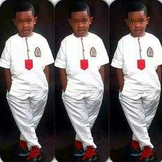 Little man ~ African fashion, Ankara, Kente, kitenge, African women dresses… African Shirts For Men, African Dresses For Kids, African Babies, African Children, African Wear, African Attire, African Women, African Style, African Print Fashion