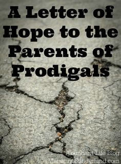 A very brave homeschooling acquaintance of mine recently shared the painful story of her prodigal child. Her mama heart broken and her head in a daze of confusion, she shared openly what is quite likely the most painful of parenting experiences – having your child reject you and the values with which you have raised […]