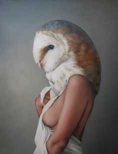 Amy Judd - Art - Peinture - Portrait - Animaux - Girls and birds
