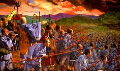 Korean warrior monks during the Imjin War