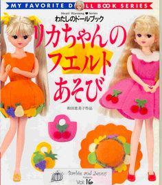 Album Archive - My Favorite Doll Book - Barbie & Jenny Book 16 Barbie Patterns, Doll Clothes Patterns, Clothing Patterns, Sewing Patterns, Doll Crafts, Diy Doll, Barbie Clothes, Barbie Dolls, Tammy Doll