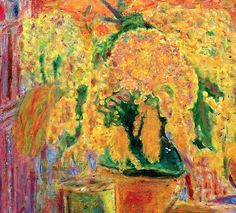 Pierre Bonnard - Bouquet of Mimosas - 1945, (Detail)