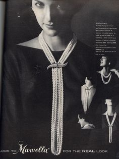 Really neat Vintage Jewelry Magazine Ad https://www.facebook.com/pages/Chris-Alix-Custom-Jewelry/187194701308962