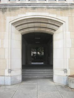 Greve Hall, 1954, East Entrance