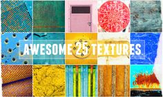 Awesome 25 colorful textures  @creativework247