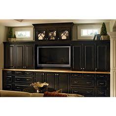 Aventa tv wardrobe wall unit x tall bedroom tv furniture for Kraftmaid closet systems