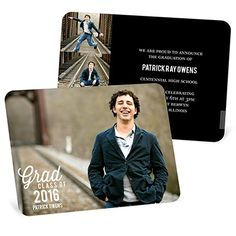Senior Graduation Announcement Photo Cards Custom Graduation