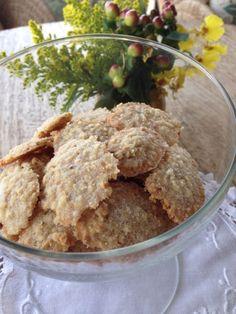 Biscoitinhos de castanha de caju e aveia