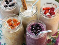 Make Ahead Oatmeal Smoothies – Sweeten Up your Days | Grocery Eats