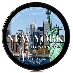 in a ny minute, face mask: $18 How much can you accomplish in a minute? If you're looking for a clean, brighter complexion, a minute is all you need. Get a fresher face faster with our natural glycolic treatment. Deep clean pores, remove dry, dead skin, and reveal vibrant, beautiful skin in a New York minute!