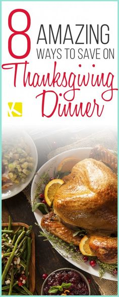 8 Amazing Ways to Save 40% on Thanksgiving Dinner
