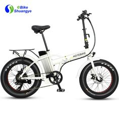 Shuangye folding fat tire with aluminum alloy folding frame, lager capacity battery, powerful rear hub brushless motor. Foldable Electric Bike, Folding Electric Bike, Electric Bicycle, Small Electric Cars, Best Electric Bikes, Electric Mountain Bike, Fat Bike, Bike Frame, Mountain Biking