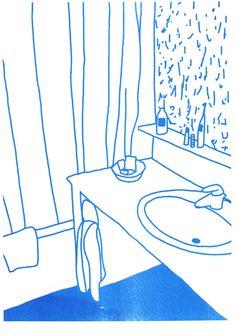 Jan Buchczik, born in May is an illustrator based in Frankfurt, Germany. Simple Illustration, Illustration Sketches, Graphic Design Illustration, Book Design, Design Art, Ligne Claire, Gravure, Art Inspo, Art Drawings