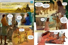 Joseph in the Land of Egypt | Illustrated Bible Story