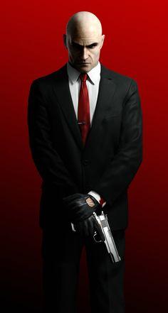 Agent 47, Hands Crossed, note tie pin