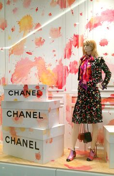 "CHANEL,EmQuarter,Bangkok, ""Add a Splash of Spring"",close-up, , pinned by Ton van der Veer"