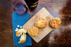 Peju Province Winery's Buttermilk Cheddar Biscuits