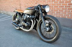 Black & Tan CB550 build by Brady Young // Seaweed & Gravel