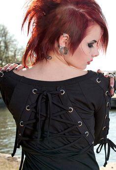 Vista Longsleeve Top :: VampireFreaks Store :: Gothic Clothing, Cyber-goth, punk, metal, alternative, rave, freak fashions