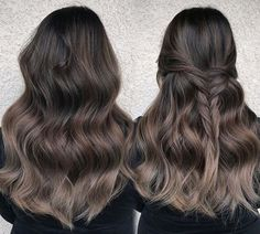 35 Smoky and Sophisticated Ash Brown Hair Color Looks - Part 15
