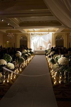 Create a breathtaking path for your walk down the aisle!