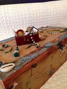 Shipwreck theme trinket or treasure box
